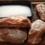 Výběr masa k solení