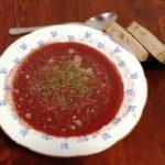 Řeznická zabijačková polévka